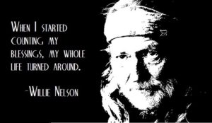 Willie Nelson and Counting your Blessings - RD Podcast